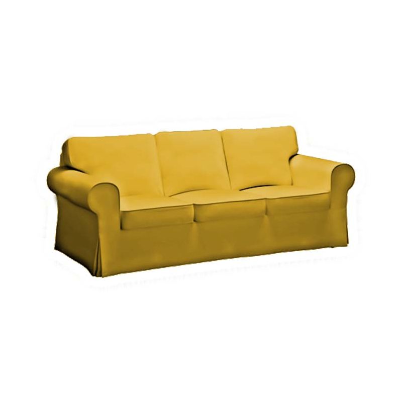 Funda para sof ektorp 3 plazas for Sofa kivik 3 plazas