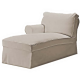 Ektorp Chaiselongue izq
