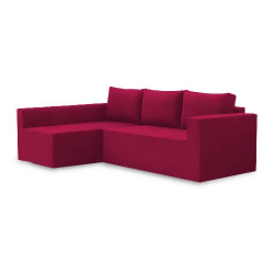 Manstad corner sofa bed left