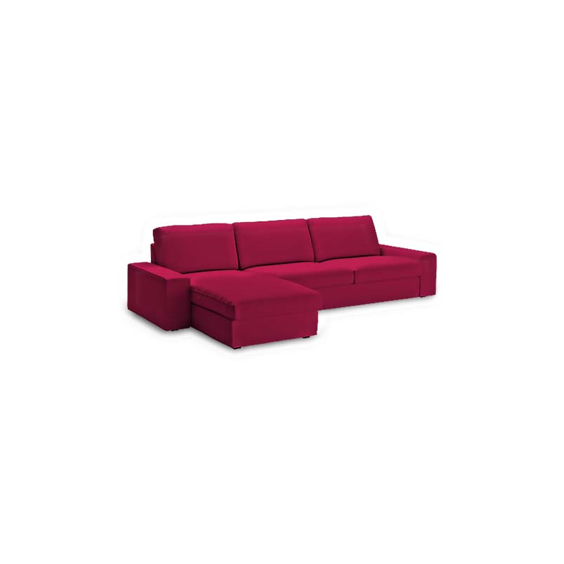 Funda para sof kivik 3 plaza chaiselongue for Sofa kivik 3 plazas