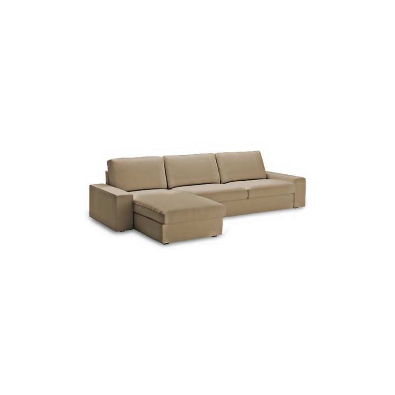Housse canap kivik 3 places chaiselongue for Housse kivik