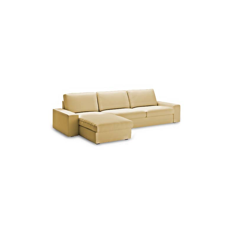 Funda para sof kivik 3 plaza chaiselongue for Sofa kivik 2 plazas
