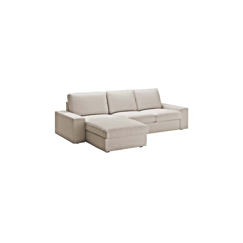 Kivik 2 Seater Sofa With Chaise Longue Cover