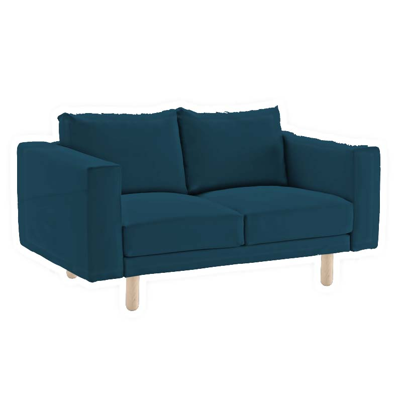 Norsborg 2 Seater Sofa Cover